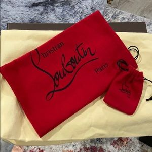 Authentic Christian Louboutin Dust Bag, Pouch